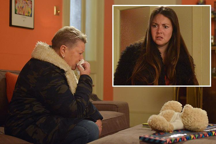 EastEnders' spoilers: Big Mo's return revealed as she tells a devastated Stacey Fowler that Kat Slater is dead