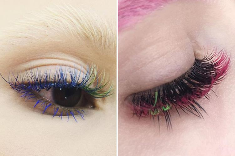Dip dye eyelash extensions are the latest bonkers beauty trend… and they're not for the fainthearted