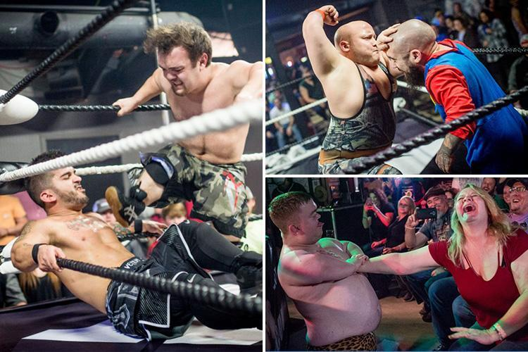 Inside the violent Micro Wrestling Federation where crowds gather to watch little people batter each other senseless