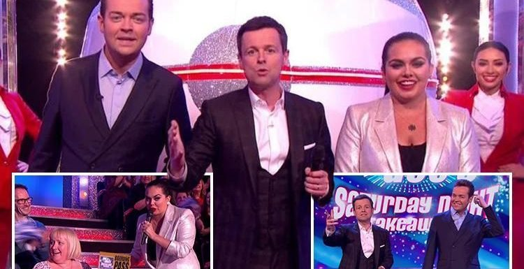 Saturday Night Takeaway fans left in tears as they praise 'brave' Declan Donnelly for going it alone without Ant McPartlin