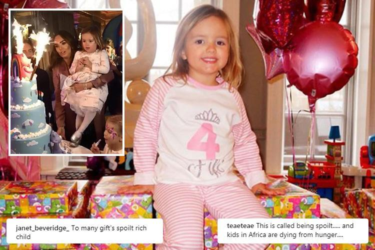 Tamara Ecclestone enrages fans after throwing daughter Sophia an extremely lavish fourth birthday party