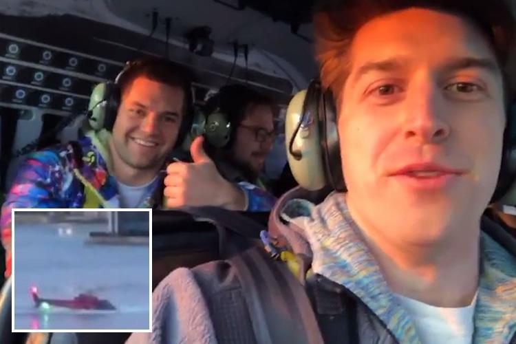 New York helicopter crash victims filmed giving thumbs-up on board doomed chopper moments before crashing, killing five