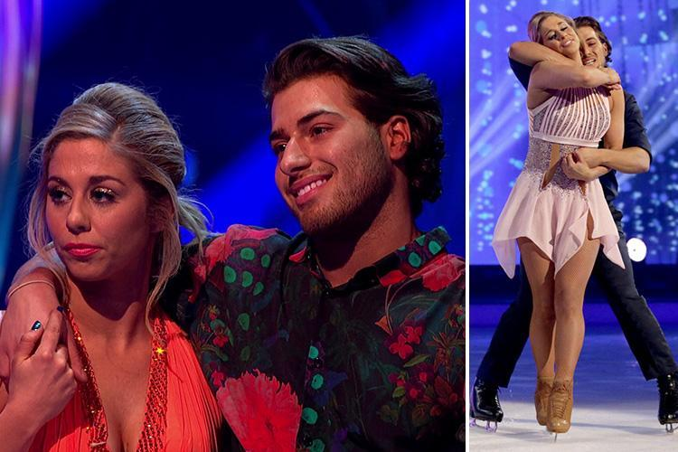 Kem Cetinay misses out on Dancing on Ice final as he becomes latest celebrity to leave the show