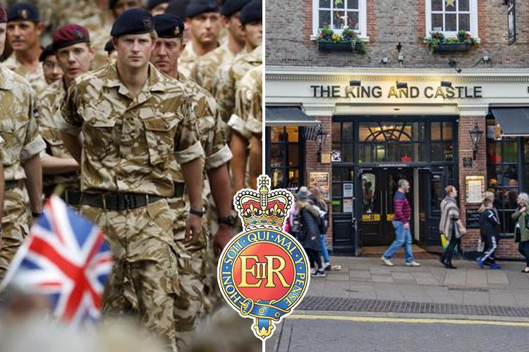 Four soldiers from Prince Harry's old regiment caught snorting cocaine in Windsor pub — just two months before it guards his wedding