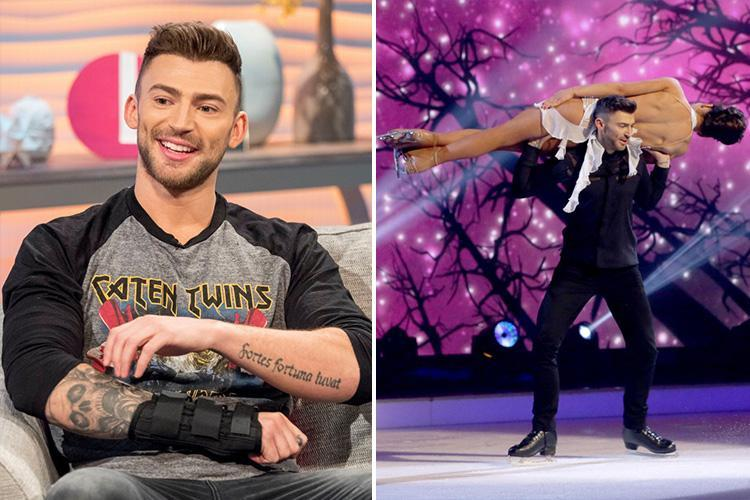Dancing On Ice's Jake Quickenden reveals pain at being mocked about brother's death by vile bullies during competition