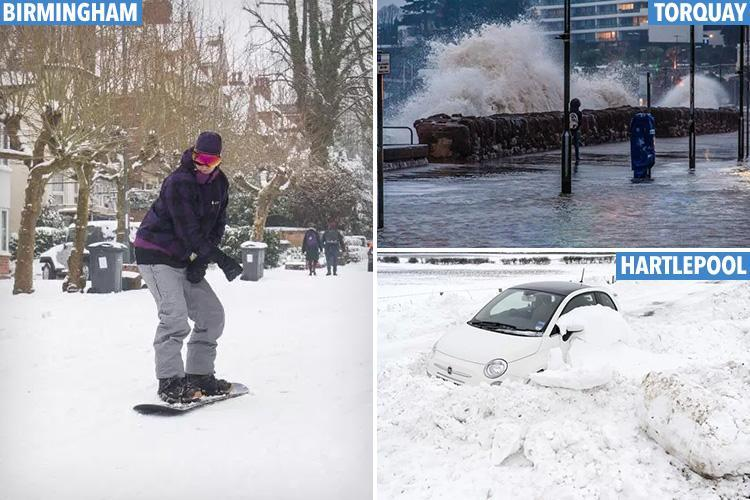 Frozen UK to finally warm up as temperatures set to rocket 14 DEGREES in just three days