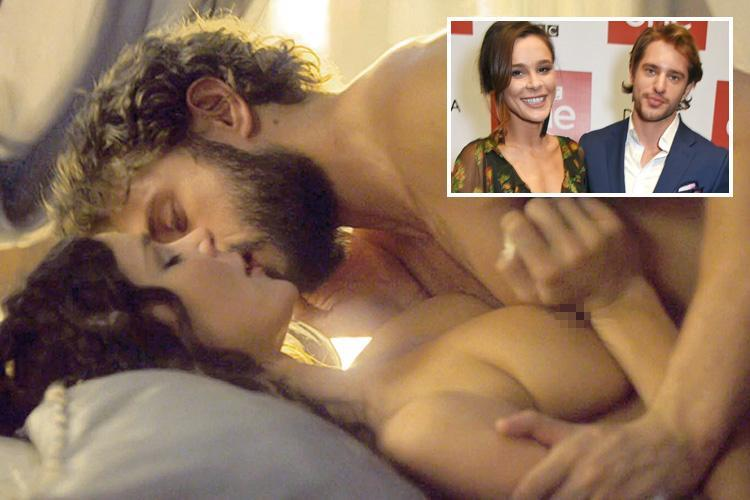BBC's Troy stars fall for each other after filming steamy sex scenes