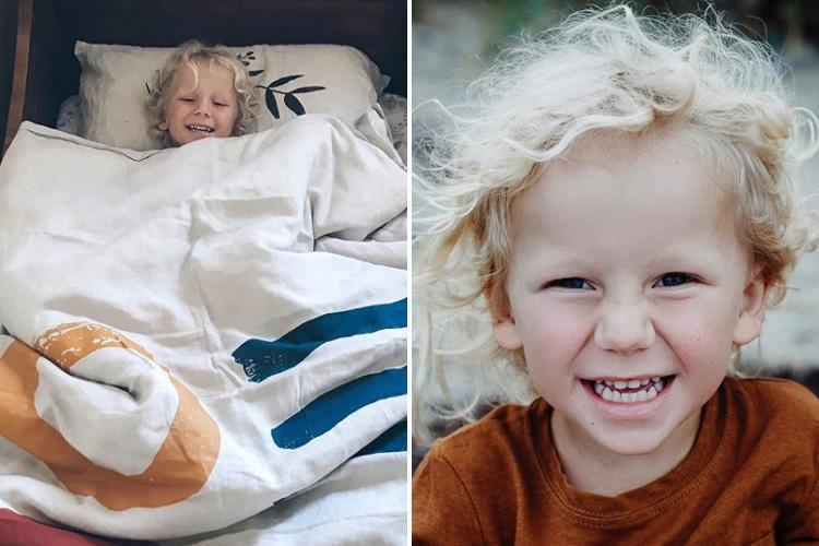 Boy, 3, chokes on bouncy ball he'd been given as birthday present and dies in his pregnant mum's arms