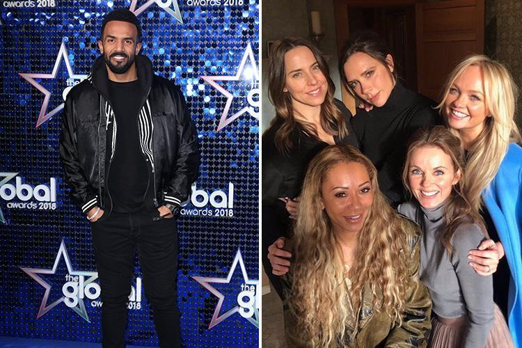 Craig David slams Spice Girls reunion saying they can't just 'stick on little dresses and come back' after 18 years