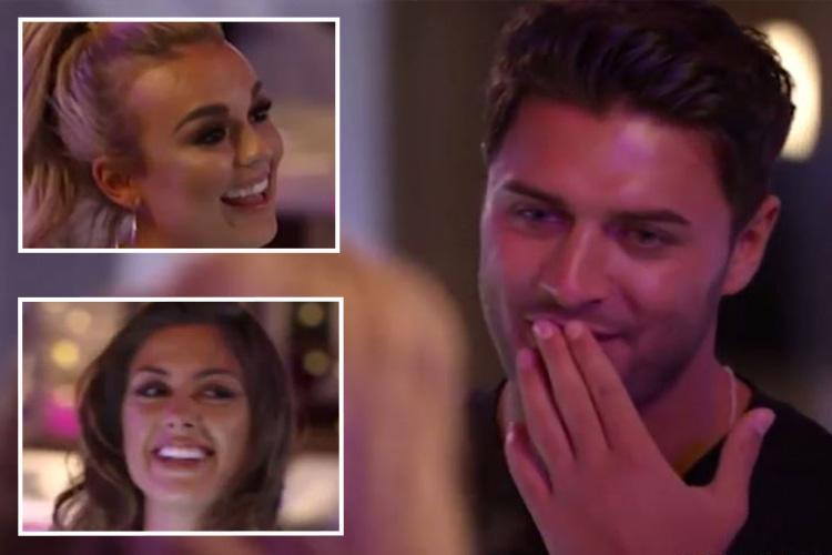Mike Thalassitis begs for a threesome with Talia Storm and date Celine on Celebs Go Dating despite blossoming romance with Megan McKenna