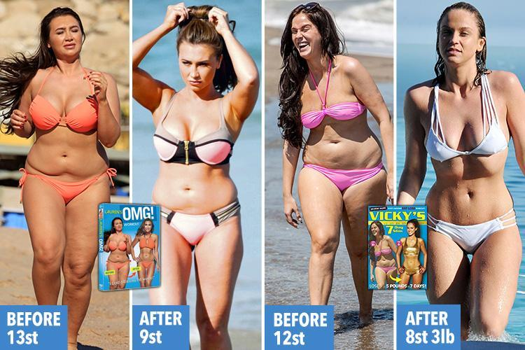 Vicky Pattison and Lauren Goodger are latest celebs to mislead fans in diet DVD scam