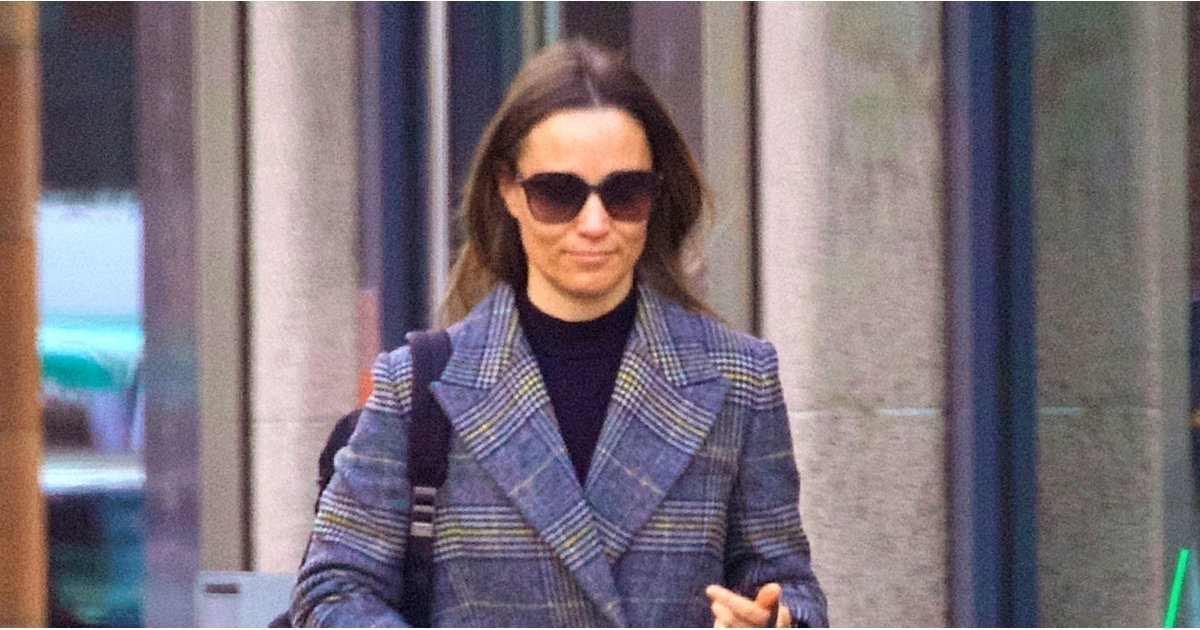 Pippa's Tweed Coat Is So Chic, We Could See Kate Middleton Borrowing It