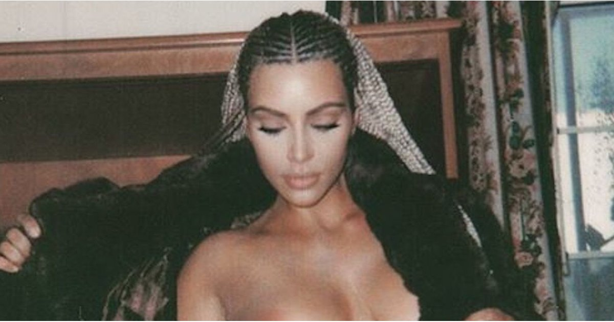 NSFW: Kim Kardashian's New Topless Selfies Are Not For the Faint of Heart