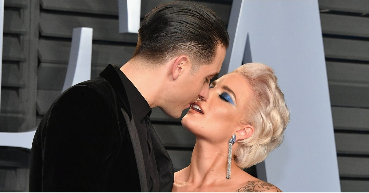 Holy PDA! Halsey and G-Eazy Can't Stop, Won't Stop Kissing During Their Oscars Date Night