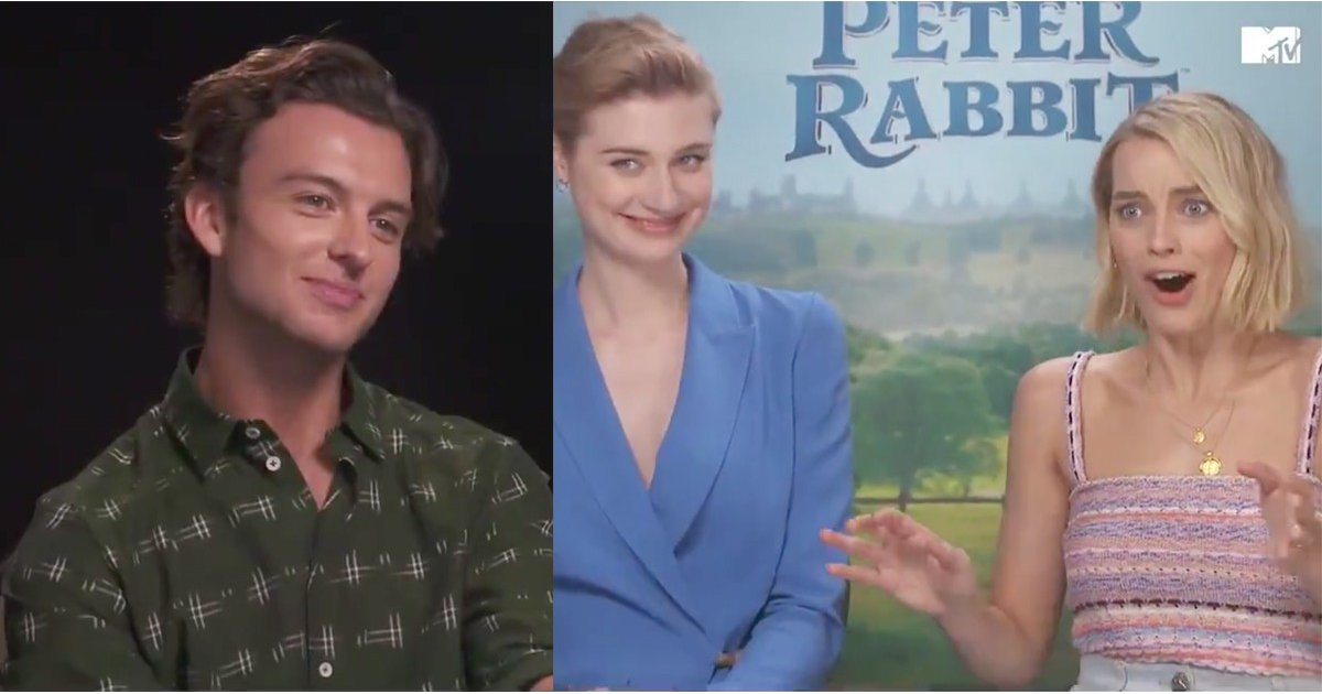 What's Cuter in This Video: Margot Robbie's Brother or Her Reaction to His Prank?