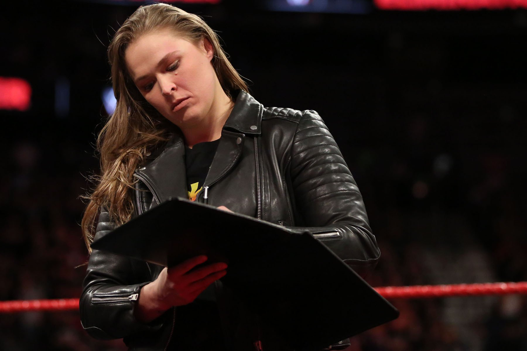 WWE makes Ronda Rousey's first WrestleMania match official