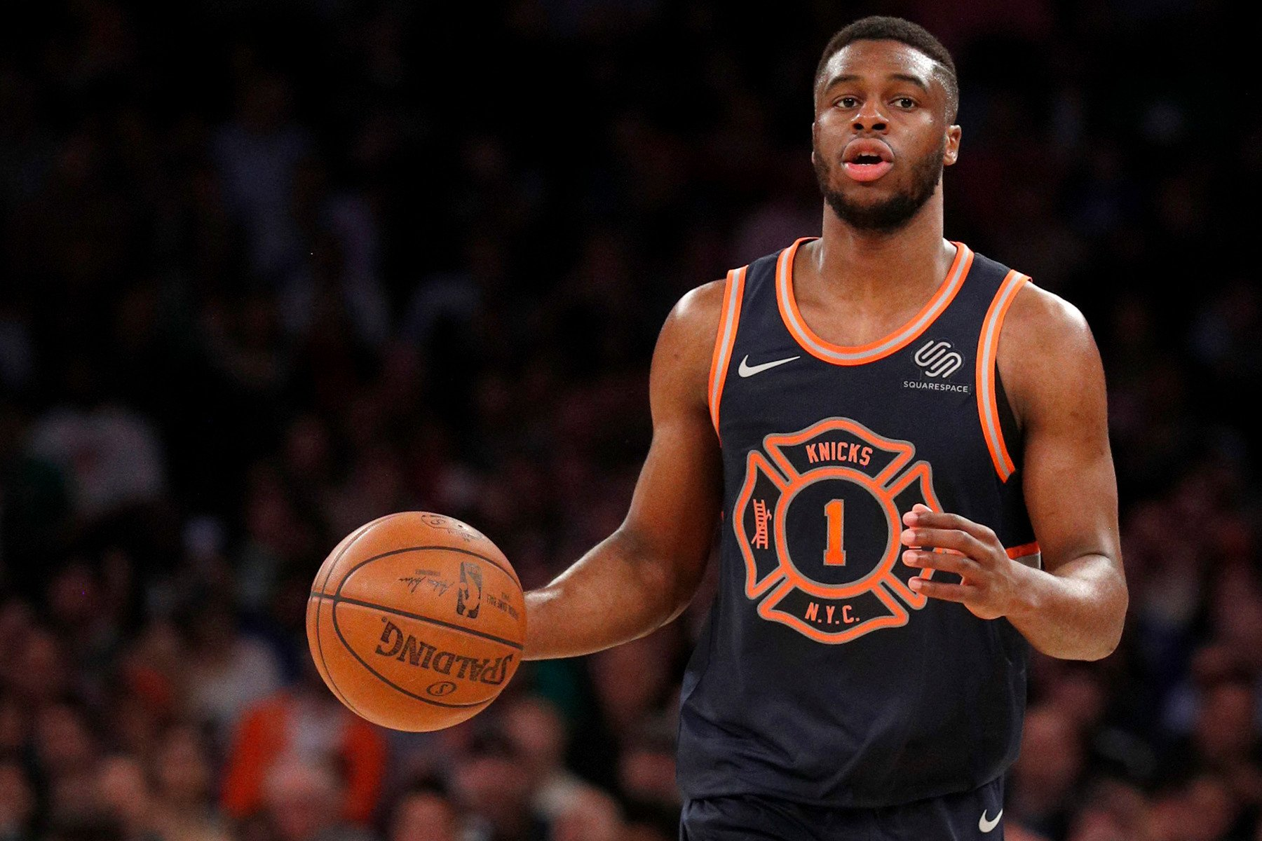 Emmanuel Mudiay is still Knicks' starting point guard with a catch