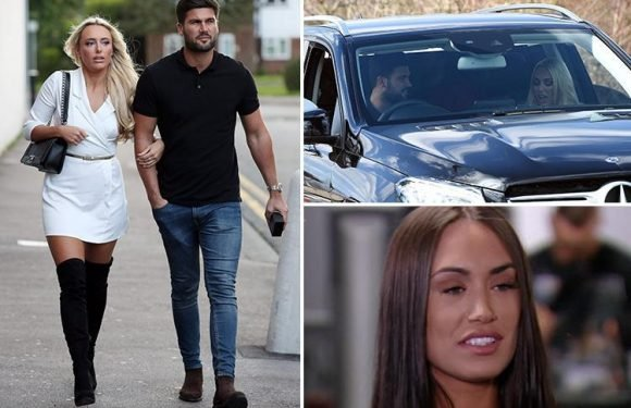 Towie's Amber Turner refuses to rule out reunion with Dan Edgar despite him two-timing her and choosing new girl Clelia over her
