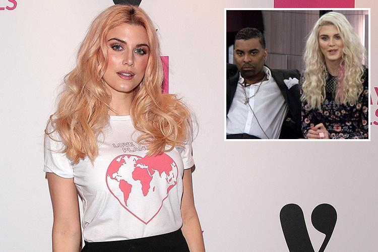 Ashley James reveals she no longer speaks to CBB co-star Ginuwine and is looking for love on a dating app