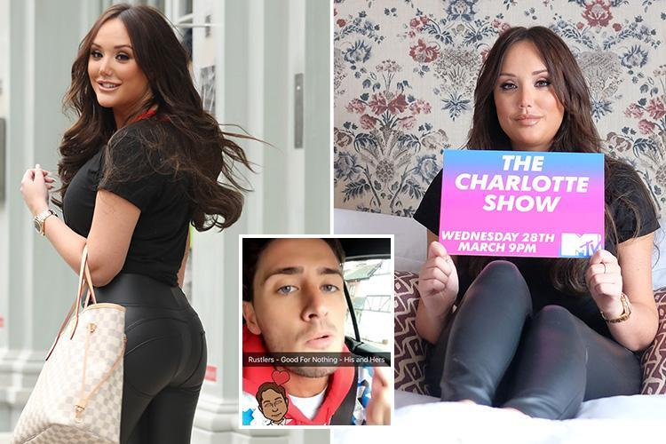 Charlotte Crosby looks in high spirits at launch of her new TV show as she's seen for first time since denying she owes ex Stephen Bear cash