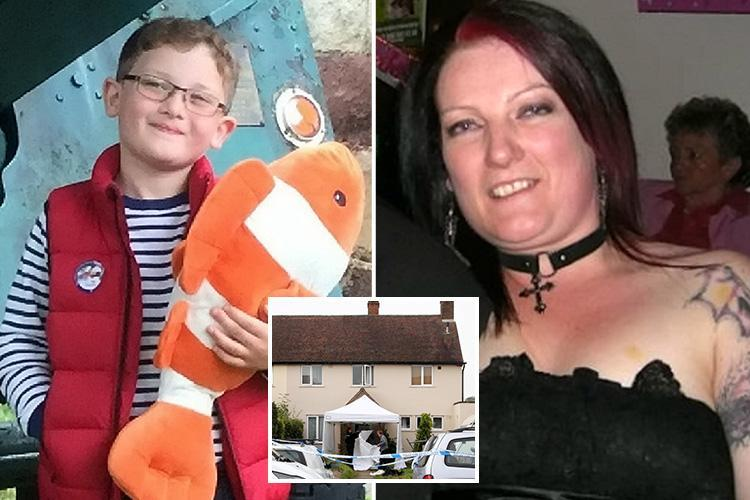Mum's 'chilling notes before strangling son, 7, to death with a scarf amid fears she would lose him in custody battle' – The Sun