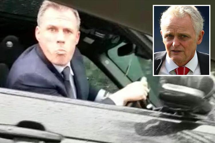 Jamie Carragher could 'see top psychologist Steve Peters' after spitting fiasco that led to Sky Sports pundit's suspension