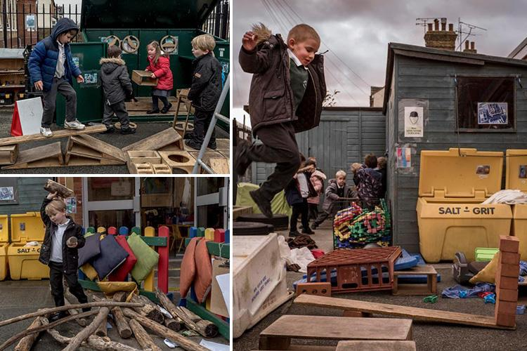 Primary school encourages children to play with knives, hammers and FIRE to toughen them up and melt generation snowflake