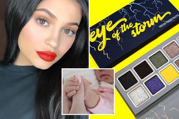 Kylie Jenner has a new makeup collection inspired by baby Stormi