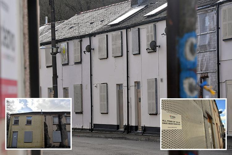 All residents forced to leave homes in 'dangerous' neighbourhood as more than 100 homes deemed 'no longer safe'