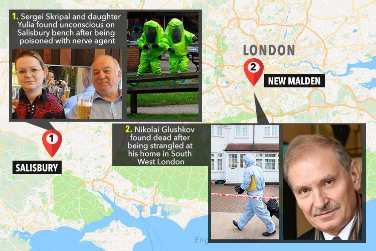 Russian tycoon Nikolai Glushkov found dead in London home WAS murdered days after spy poisoning