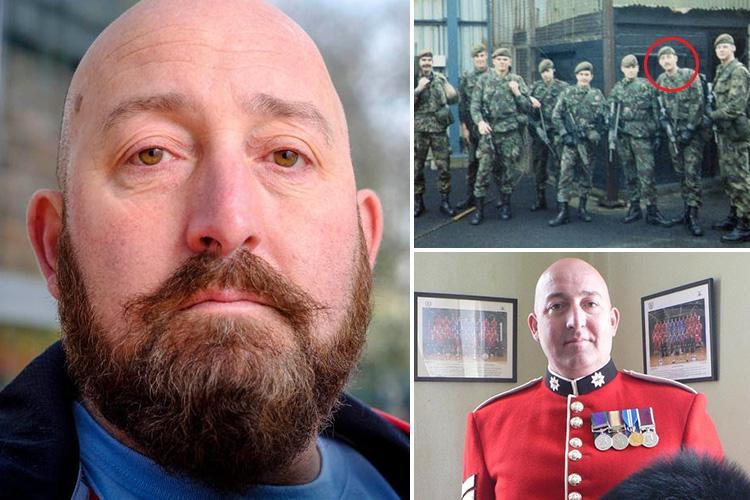 Brave veteran who fought in the Gulf War and Troubles opens up about battle with PTSD