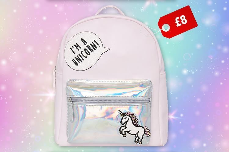 Primark is selling a shimmery unicorn backpack for just £8… and your daughter is going to LOVE it