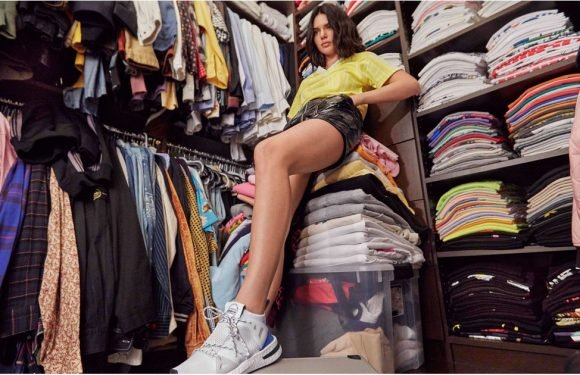 Kendall Jenner Showed Off Her Massive Closet, but We're Too Busy Staring at Her Sneakers