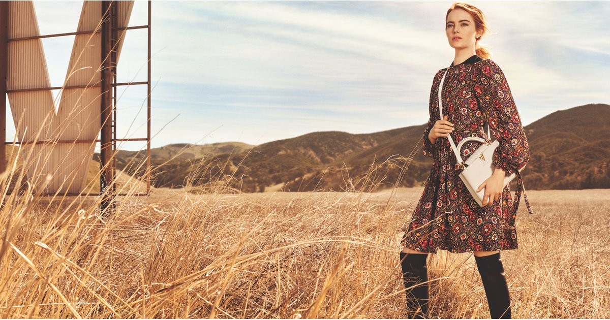 We Didn't Really Need a New Bag, but Then We Saw Emma Stone's Louis Vuitton Campaign