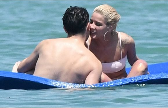 G-Eazy Gets Handsy With Halsey During a Day at the Beach in Miami