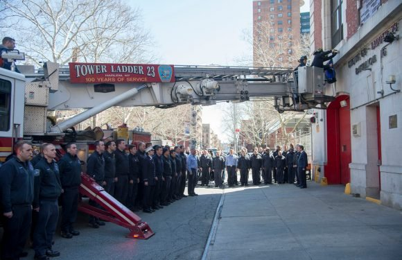 Firefighter killed in Harlem blaze posthumously promoted
