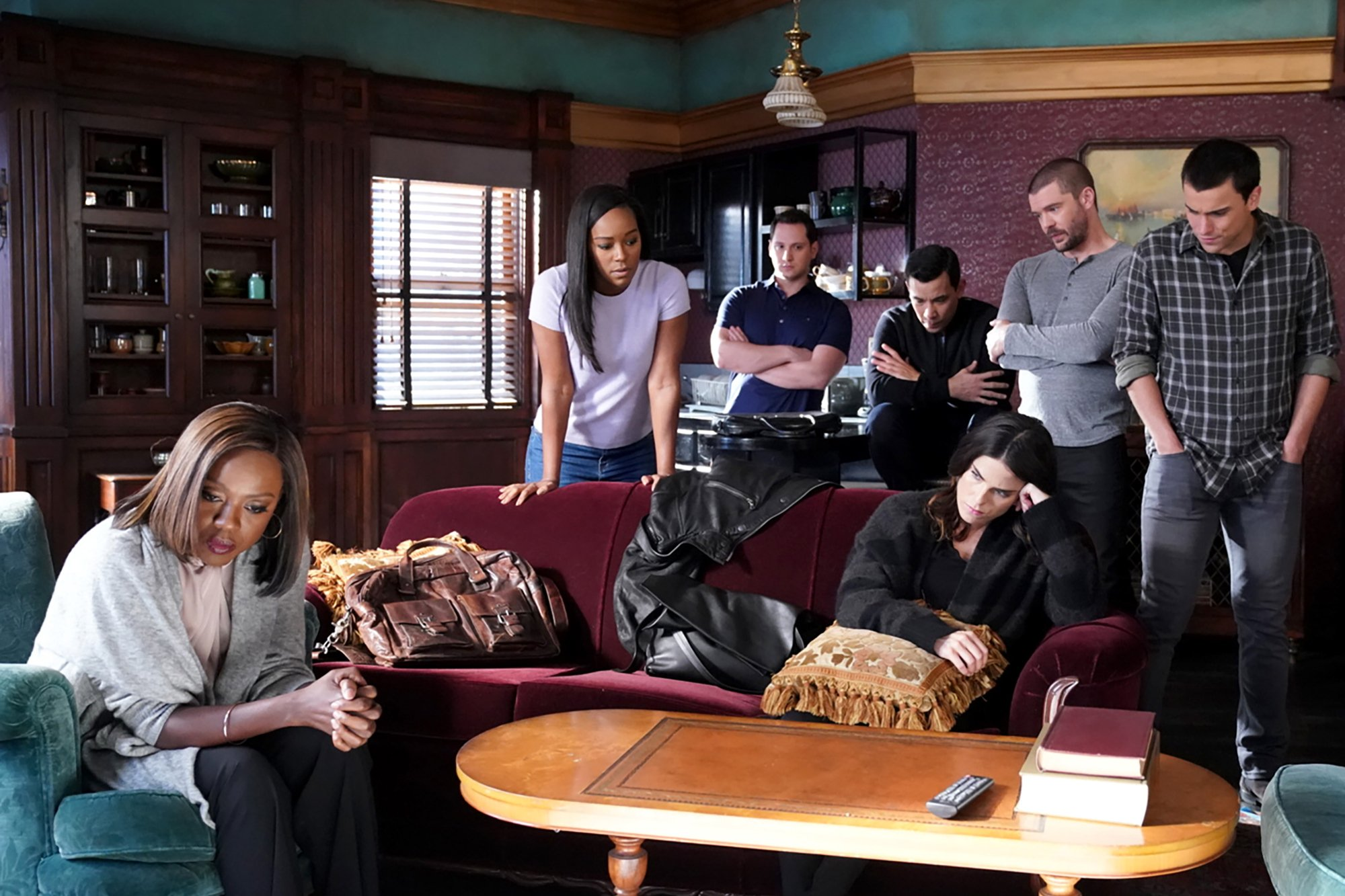 'How to Get Away with Murder' finale cliffhanger digs up the past