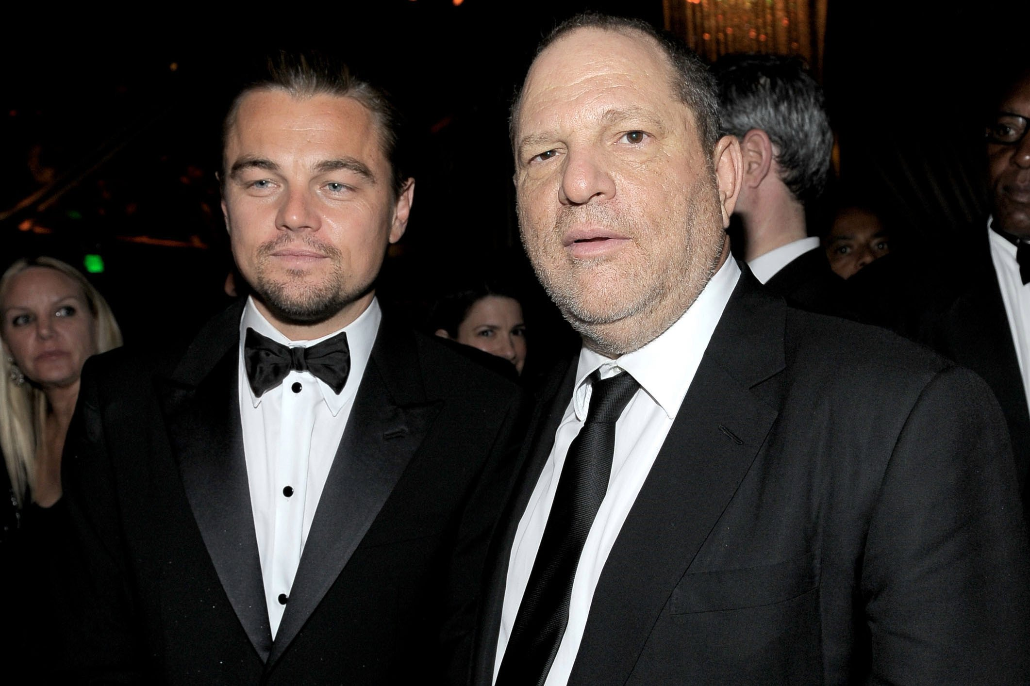 Leo's foundation auctions included 'prizes' with Weinstein