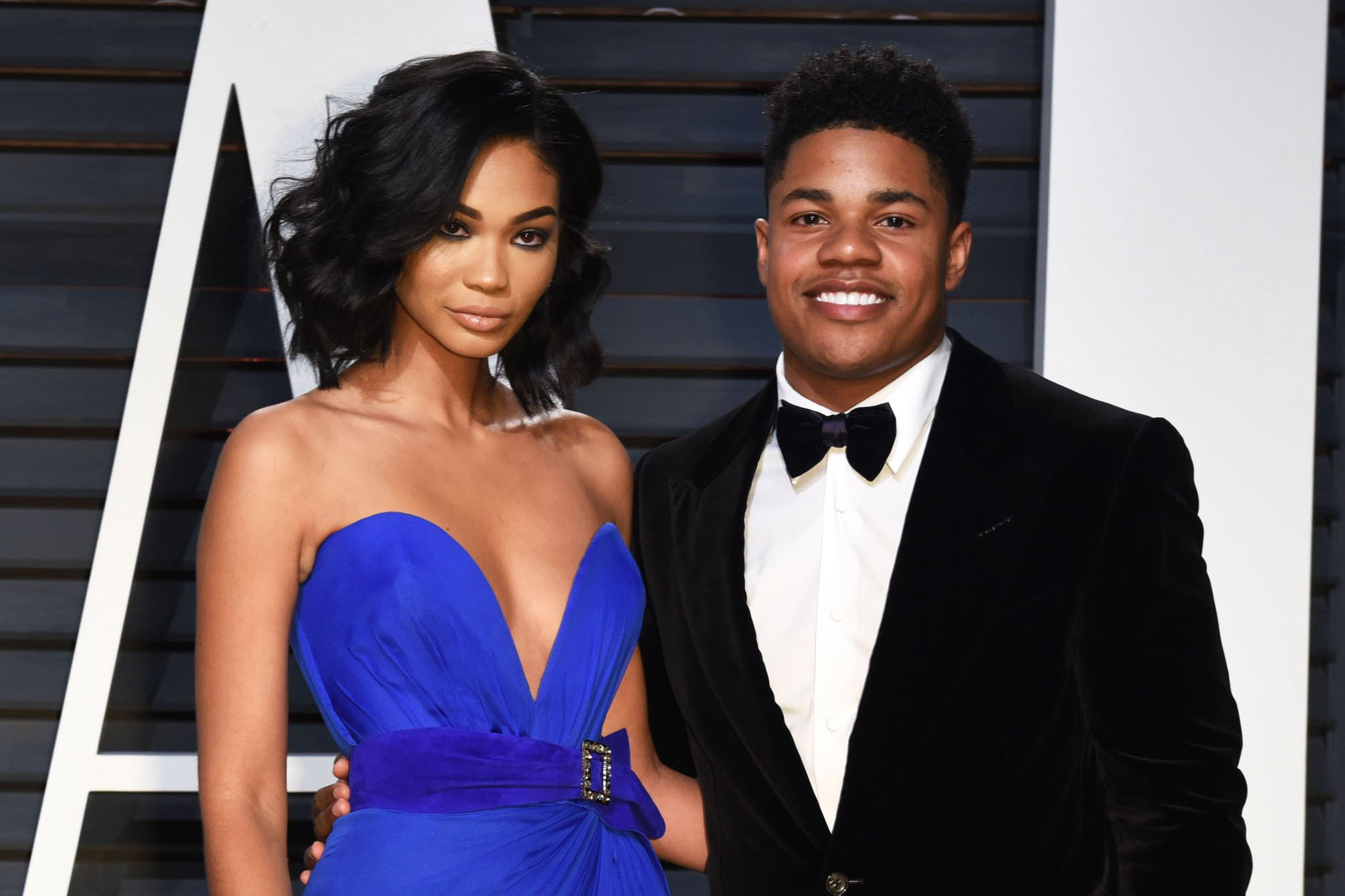 Chanel Iman and Sterling Shepard tie the knot