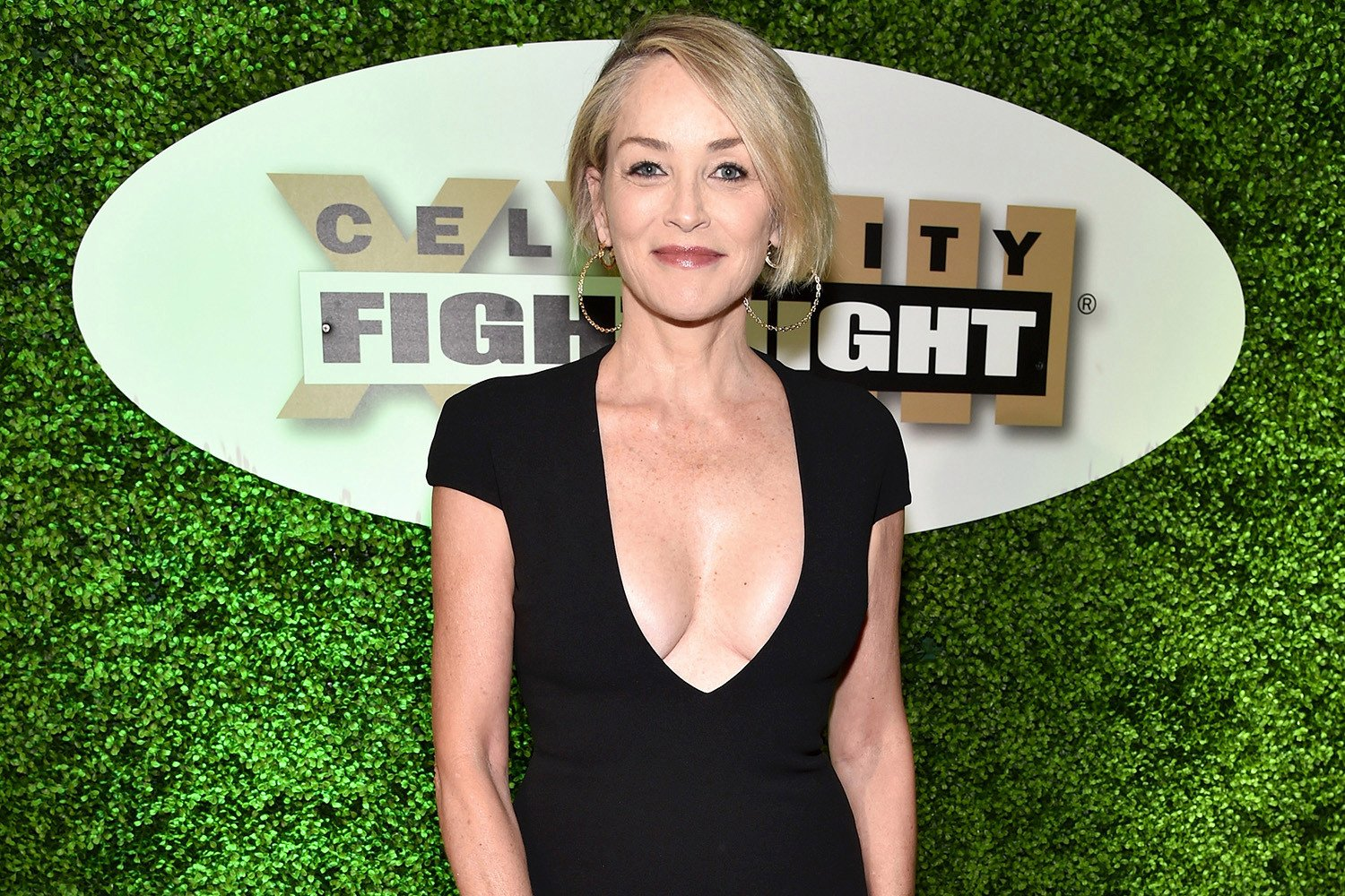 Good luck trying to look like Sharon Stone