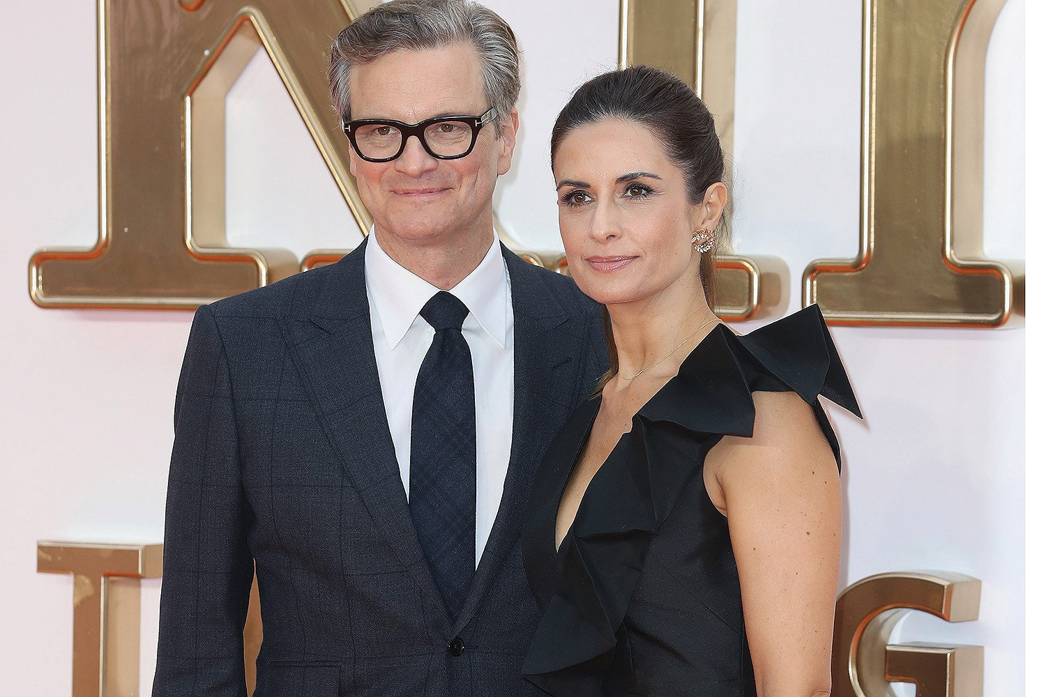 Colin Firth's wife admits to affair with 'friend turned stalker'