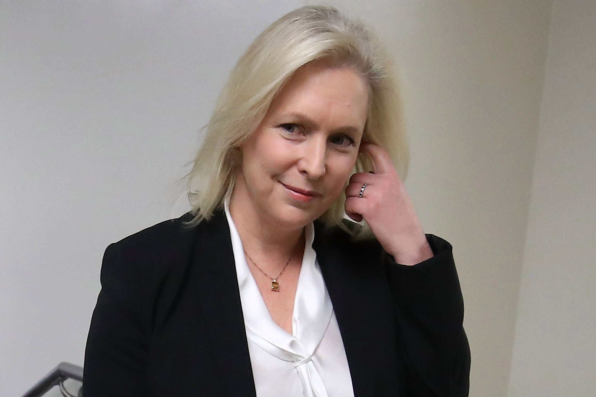 How Kirsten Gillibrand is getting 'dirt' on her GOP opponent