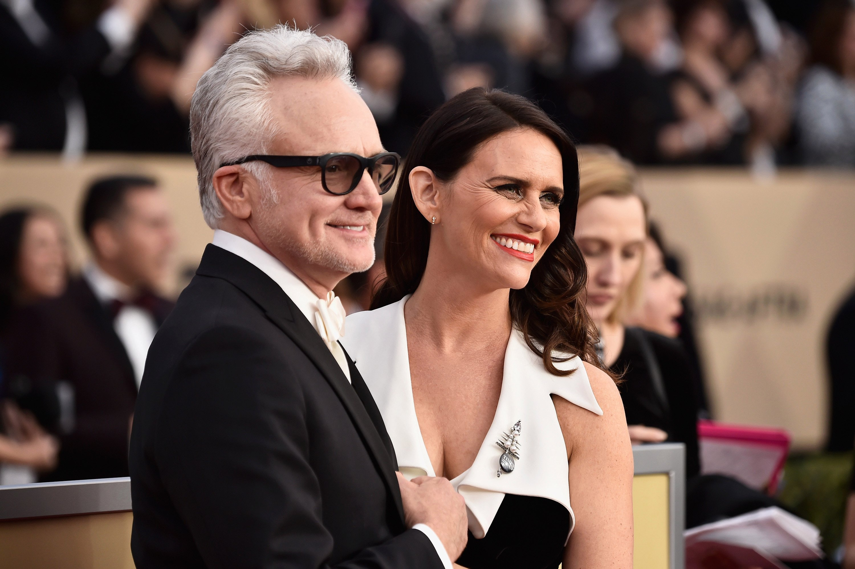 Are Bradley Whitford and Amy Landecker engaged?