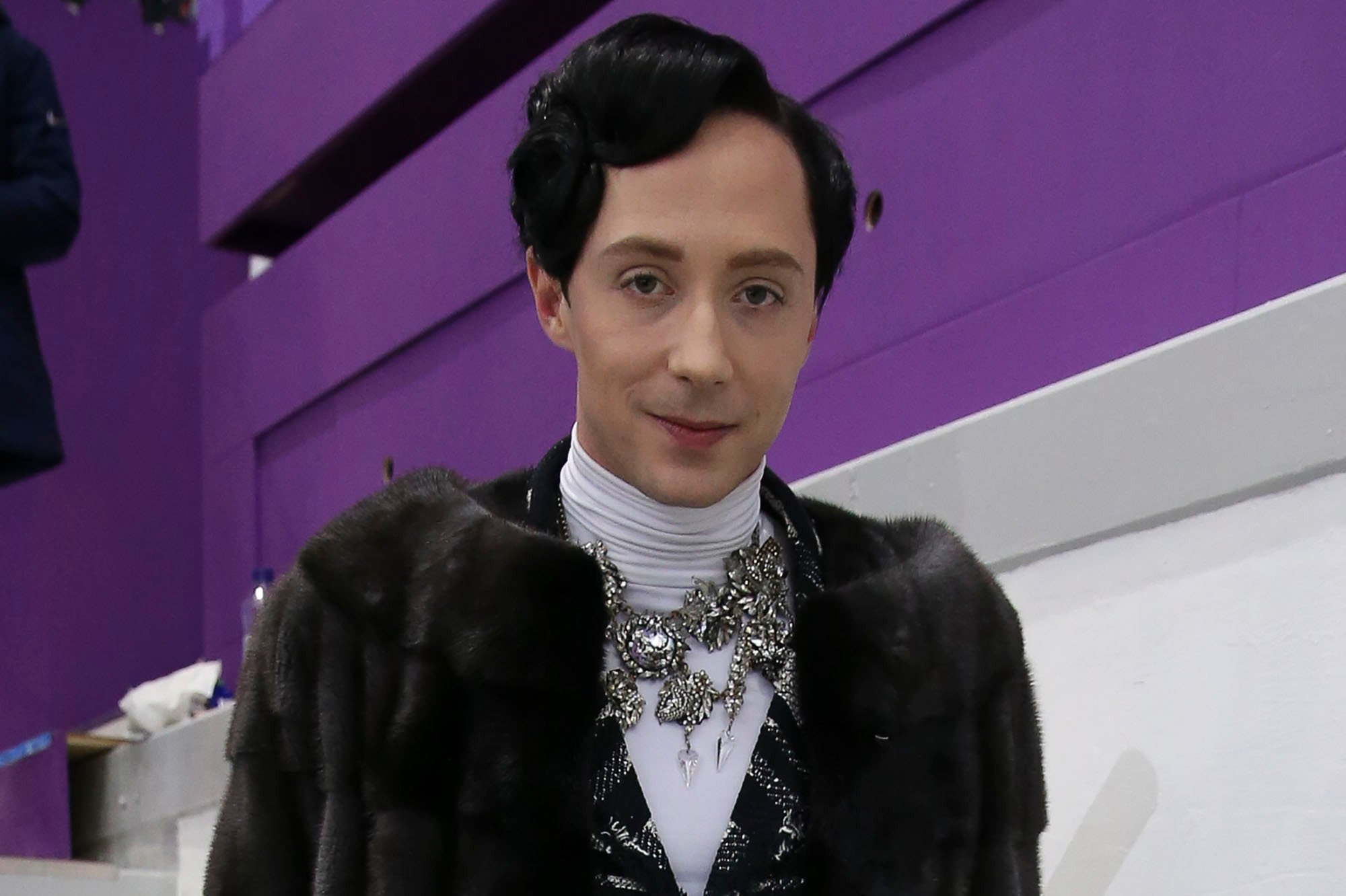 Johnny Weir has a lot to say about Russia