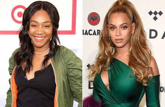 Tiffany Haddish says she saw another actress bite Beyonce in the face