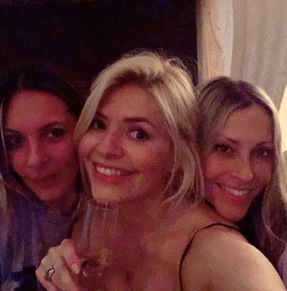 Holly Willoughby parties with Nicole Appleton as singer moves on from Paddy McGuinness picture scandal