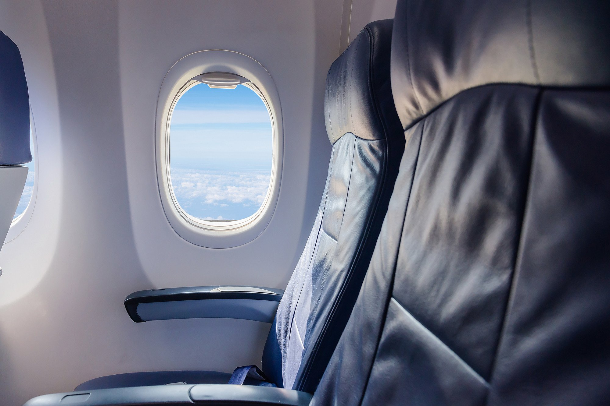 Sit in this spot on an airplane to avoid the flu while flying