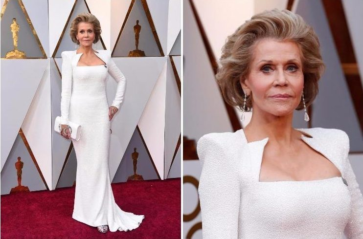 Jane Fonda, 80, looks amazing as she wows Oscars 2018 with youthful appearance