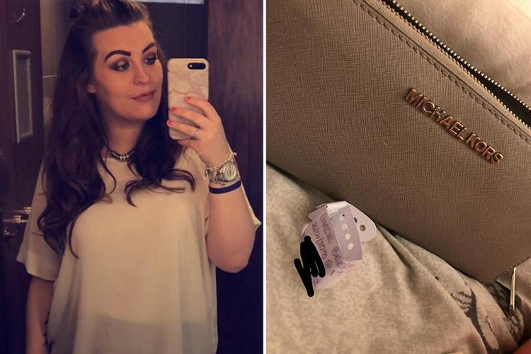 Young mum desperate to track down kind-hearted homeless man who returned her lost designer purse after night out