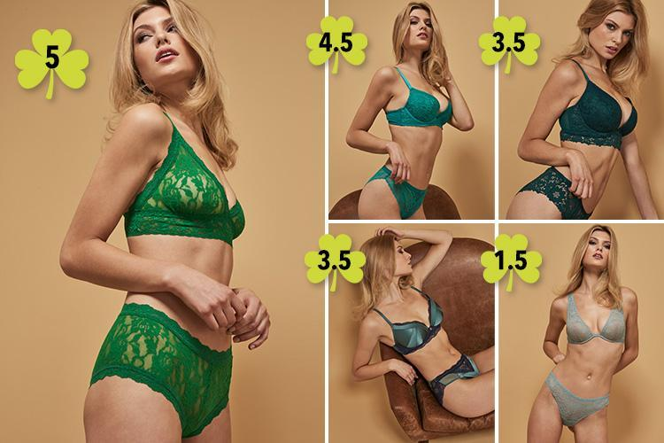 Best green undies from the high street – just in time for St Paddy's Day